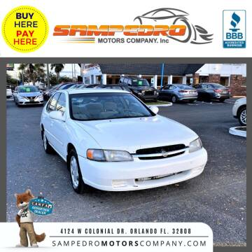 1999 Nissan Altima for sale at SAMPEDRO MOTORS COMPANY INC in Orlando FL