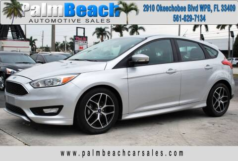 2016 Ford Focus for sale at Palm Beach Automotive Sales in West Palm Beach FL