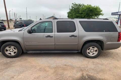 2007 Chevrolet Suburban for sale at WF AUTOMALL in Wichita Falls TX
