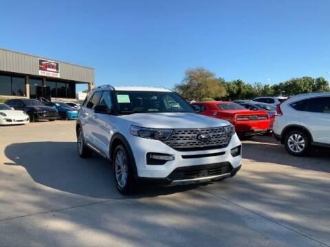 2020 Ford Explorer for sale at KIAN MOTORS INC in Plano TX