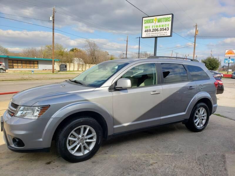 2017 Dodge Journey for sale at Shock Motors in Garland TX