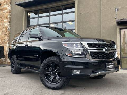 2017 Chevrolet Tahoe for sale at Unlimited Auto Sales in Salt Lake City UT