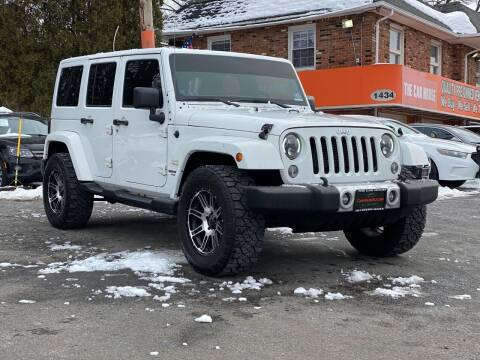 2014 Jeep Wrangler Unlimited for sale at Bloomingdale Auto Group - The Car House in Butler NJ