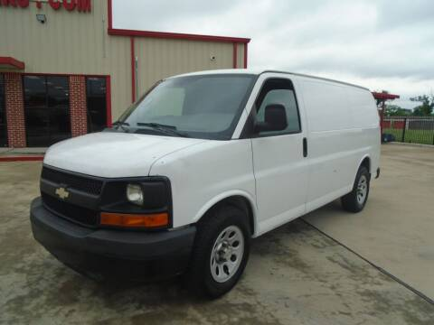 2012 Chevrolet Express Cargo for sale at Premier Foreign Domestic Cars in Houston TX