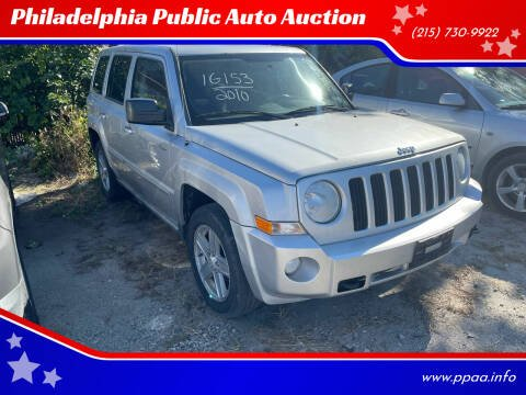 2010 Jeep Patriot for sale at Philadelphia Public Auto Auction in Philadelphia PA