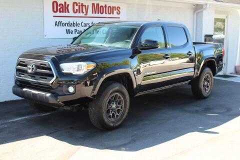 2017 Toyota Tacoma for sale at Oak City Motors in Garner NC