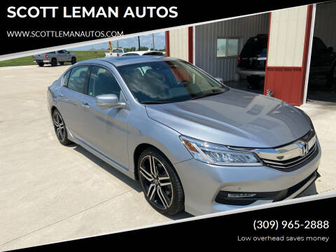 2017 Honda Accord for sale at SCOTT LEMAN AUTOS in Goodfield IL