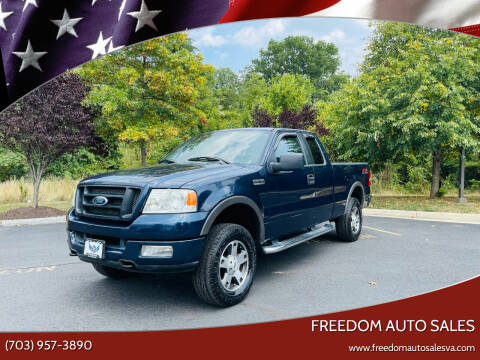 2005 Ford F-150 for sale at Freedom Auto Sales in Chantilly VA
