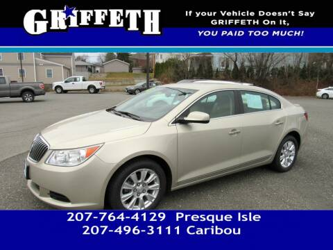 2013 Buick LaCrosse for sale at Griffeth Mitsubishi - Pre-owned in Caribou ME