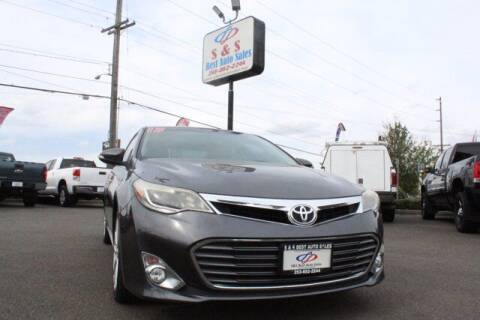 2013 Toyota Avalon for sale at S&S Best Auto Sales LLC in Auburn WA