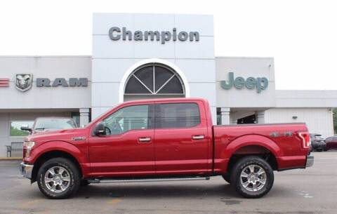 2015 Ford F-150 for sale at Champion Chevrolet in Athens AL