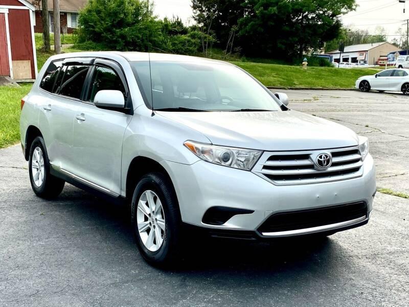 2012 Toyota Highlander for sale at ANZ AUTO CONCEPTS LLC in Fredericksburg VA
