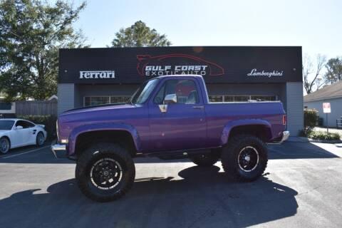 1990 Chevrolet Blazer for sale at Gulf Coast Exotic Auto in Biloxi MS