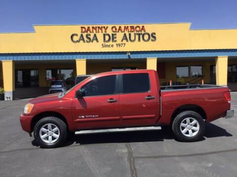 2013 Nissan Titan for sale at CASA DE AUTOS, INC in Las Cruces NM