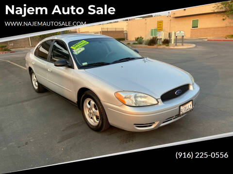 2005 Ford Taurus for sale at Najem Auto Sale in Sacramento CA