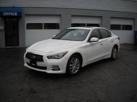 2015 Infiniti Q50 for sale at Best Wheels Imports in Johnston RI