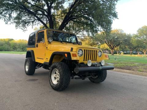 2006 Jeep Wrangler for sale at 210 Auto Center in San Antonio TX