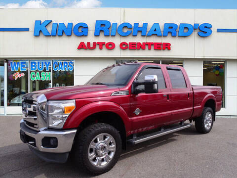 2013 Ford F-350 Super Duty for sale at KING RICHARDS AUTO CENTER in East Providence RI