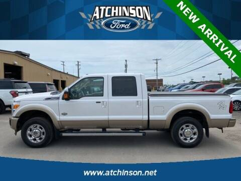 2012 Ford F-250 Super Duty for sale at Atchinson Ford Sales Inc in Belleville MI