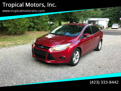 2014 Ford Focus for sale at Tropical Motors, Inc. in Riceville TN