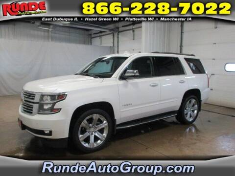 2018 Chevrolet Tahoe for sale at Runde Chevrolet in East Dubuque IL