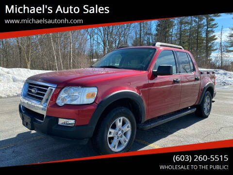 2007 Ford Explorer Sport Trac for sale at Michael's Auto Sales in Derry NH