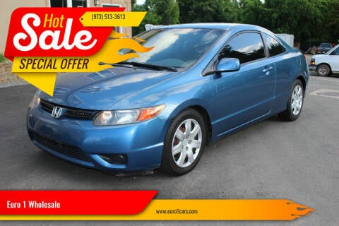 2007 Honda Civic for sale at Euro 1 Wholesale in Fords NJ
