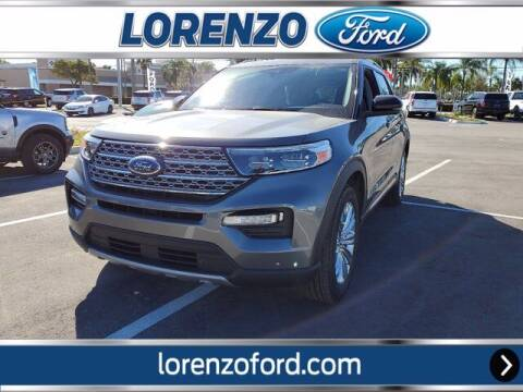 2021 Ford Explorer Hybrid for sale at Lorenzo Ford in Homestead FL