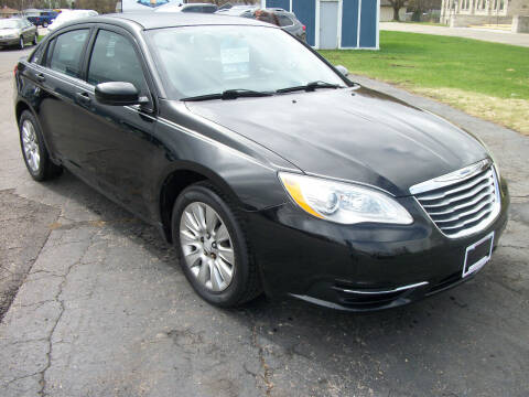 2014 Chrysler 200 for sale at USED CAR FACTORY in Janesville WI
