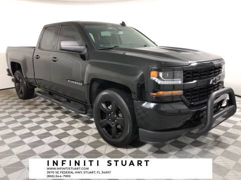 2018 Chevrolet Silverado 1500 for sale at Infiniti Stuart in Stuart FL