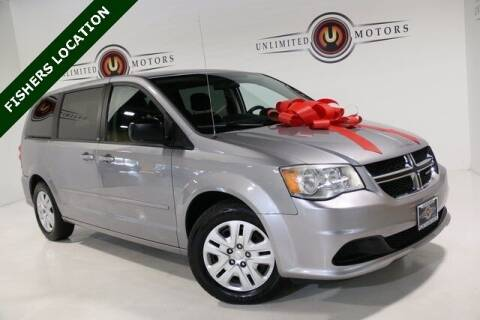2014 Dodge Grand Caravan for sale at Unlimited Motors in Fishers IN