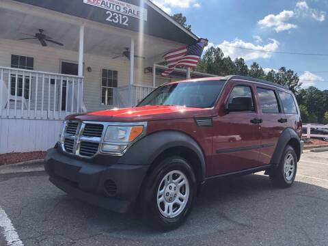 2007 Dodge Nitro for sale at CVC AUTO SALES in Durham NC