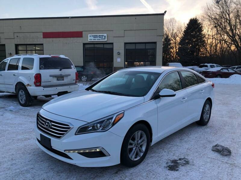 2015 Hyundai Sonata for sale at Fleet Automotive LLC in Maplewood MN