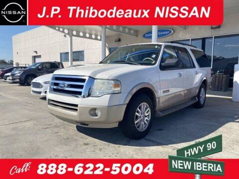 2008 Ford Expedition EL for sale at J P Thibodeaux Used Cars in New Iberia LA