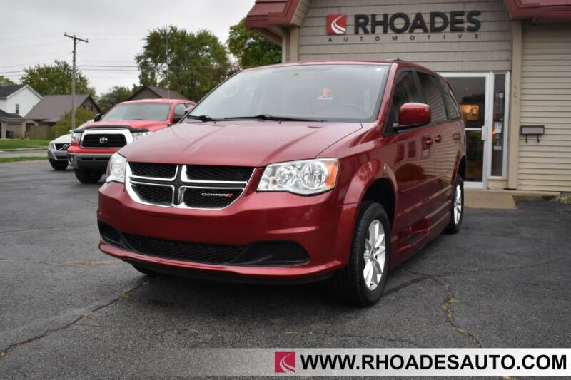 2014 Dodge Grand Caravan for sale at Rhoades Automotive in Columbia City IN