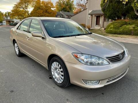 2005 Toyota Camry for sale at Red Rock's Autos in Denver CO