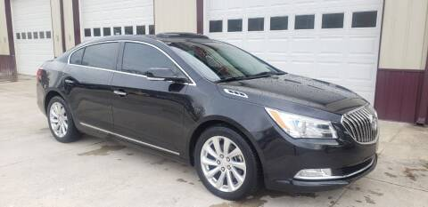 2015 Buick LaCrosse for sale at COOPER AUTO SALES in Oneida TN