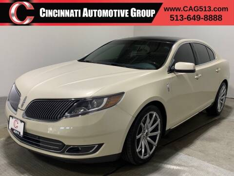 2014 Lincoln MKS for sale at Cincinnati Automotive Group in Lebanon OH