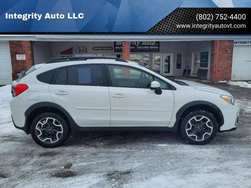 2016 Subaru Crosstrek for sale at Integrity Auto LLC - Integrity Auto 2.0 in St. Albans VT