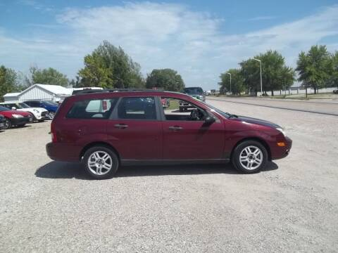 2006 Ford Focus for sale at BRETT SPAULDING SALES in Onawa IA