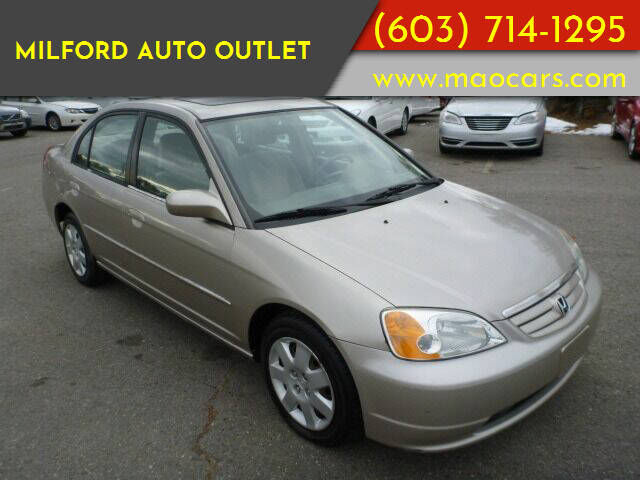 2001 Honda Civic for sale at Milford Auto Outlet in Milford NH