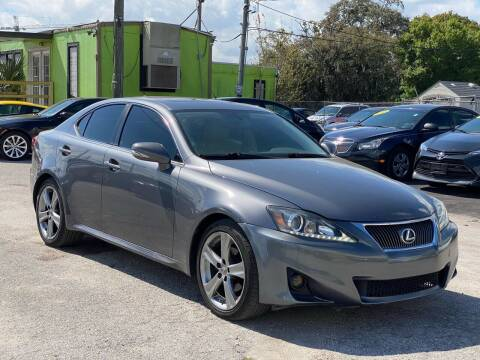 2012 Lexus IS 250 for sale at Marvin Motors in Kissimmee FL