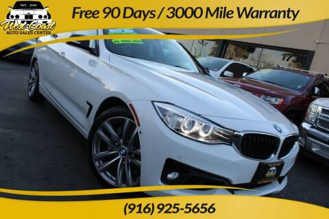 2015 BMW 3 Series for sale at West Coast Auto Sales Center in Sacramento CA