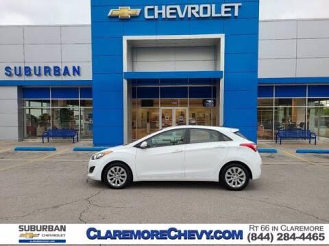 2017 Hyundai Elantra GT for sale at Suburban Chevrolet in Claremore OK
