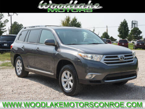 2013 Toyota Highlander for sale at WOODLAKE MOTORS in Conroe TX