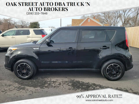 2015 Kia Soul for sale at Oak Street Auto DBA Truck 'N Auto Brokers in Pocatello ID