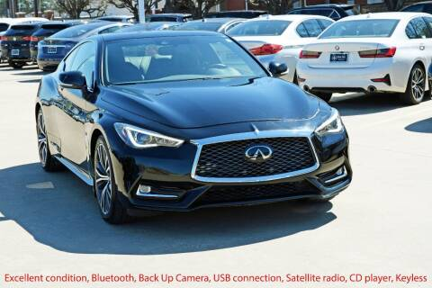 2020 Infiniti Q60 for sale at Silver Star Motorcars in Dallas TX