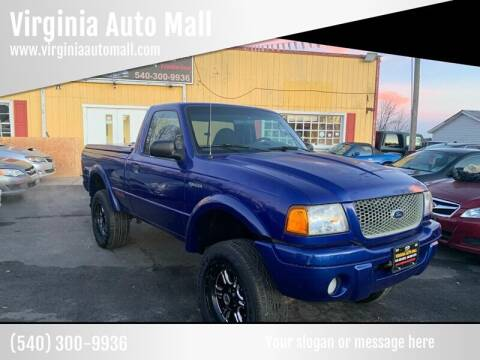 2003 Ford Ranger for sale at Virginia Auto Mall in Woodford VA
