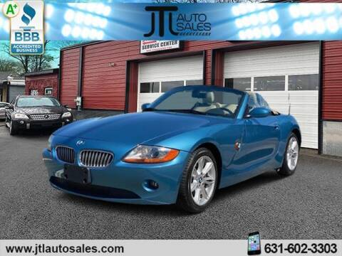 2004 BMW Z4 for sale at JTL Auto Inc in Selden NY