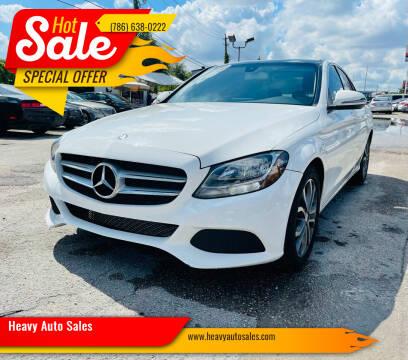 2016 Mercedes-Benz C-Class for sale at Heavy Auto Sales in Miami FL